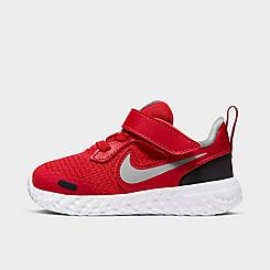Boys' Toddler Nike Revolution 5 Hook-and-Loop Running Shoes
