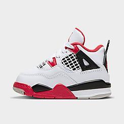 Kids' Toddler Air Jordan Retro 4 Basketball Shoes