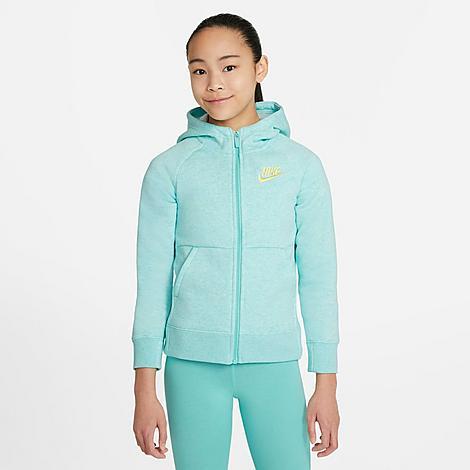 Nike NIKE GIRLS' SPORTSWEAR FULL-ZIP HOODIE