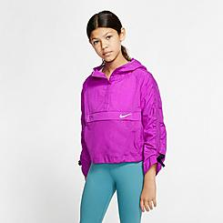 Girls' Nike Sportswear Hip Pack-It Packable Jacket