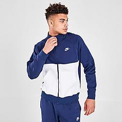 Men's Nike Sportswear Fleece Track Jacket