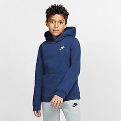 Boys' Nike Sportswear Club Fleece Pullover Hoodie