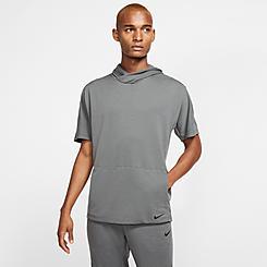Men's Nike Yoga Dri-FIT Short-Sleeve Hoodie