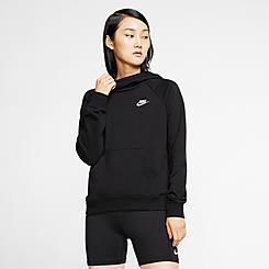 Women's Nike Sportswear Essential Funnel-Neck Fleece Pullover Hoodie
