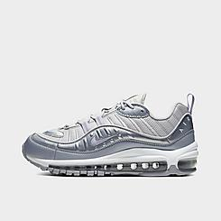 Women's Nike Air Max 98 SE Metallic Casual Shoes