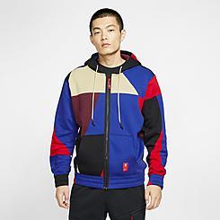 Men's Nike Kyrie Abstract Full-Zip Hoodie