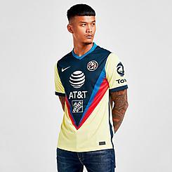Men's Nike Club América 2020-21 Stadium Home Soccer Jersey