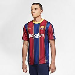 Men's Nike FC Barcelona 2020-21 Stadium Home Soccer Jersey