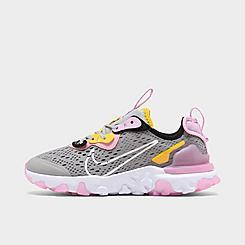 Girls' Big Kids' Nike React Vision Running Shoes