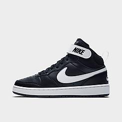 Big Kids' Nike Court Borough Mid 2 Casual Shoes