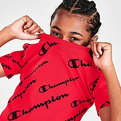 Boys' Champion AOP Script Logo T-Shirt