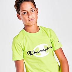 Boys' Champion Dual Logo T-Shirt
