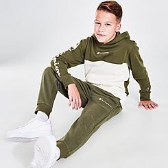 Boys' Champion Small Script Jogger Pants