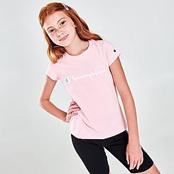 Girls' Champion Classic Script T-Shirt