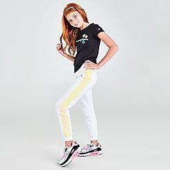 Girls' Champion Smiley Script Logo Jogger Pants