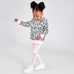 Girls' Infant Champion Animal Print Fleece Hoodie and Leggings Set