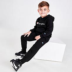 Boys' Infant Champion Classic Script Hoodie and Joggers Set