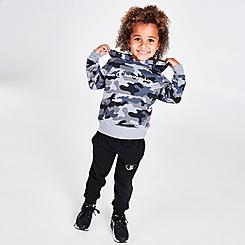 Kids' Toddler Champion Script Camouflage Hoodie and Jogger Pants Set