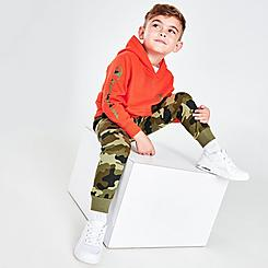 Boys' Toddler Champion C Camouflage Hoodie and Jogger Pants Set