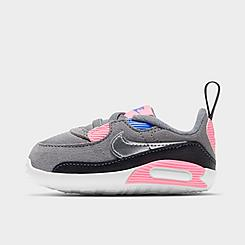 Girls' Infant Nike Air Max 90 Crib Booties