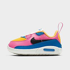 Girls' Infant Nike Air Max 90 Crib Shoes