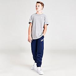 Boys' Nike Sportswear Embroidered Logo Club Fleece Jogger Pants
