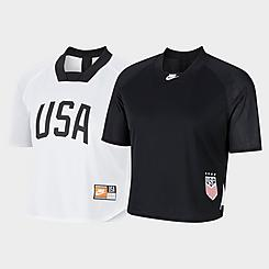 Women's Nike U.S. Soccer Reversible Short-Sleeve Top