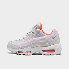 Girls' Big Kids' Nike Air Max 95 Recraft Casual Shoes