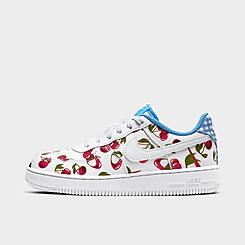 Girls' Little Kids' Nike Air Force 1 LV8 1 Cherries Casual Shoes