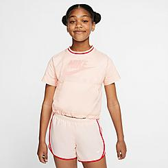 Girls' Nike Air Translucent Oversized T-Shirt