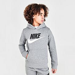 Kids' Nike Sportswear HBR Club Fleece Hoodie