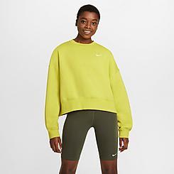 Women's Nike Sportswear Cropped Crewneck Sweatshirt