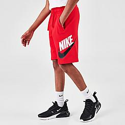 Kids' Nike Sportswear HBR Club Fleece Shorts