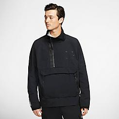 Men's Nike Sportswear Tech Pack Woven Half-Zip Jacket