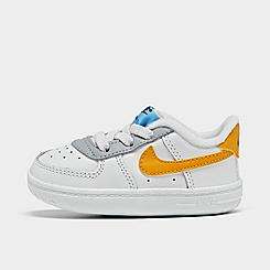 Boys' Infant Nike Air Force 1 Crib Casual Shoes