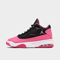 Girls' Big Kids' Jordan Max Aura 2 Basketball Shoes