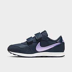 Girls' Little Kids' Nike MD Valiant Hook-and-Loop Casual Shoes