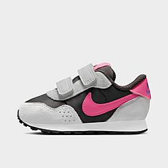 Girls' Toddler Nike MD Valiant Hook-and-Loop Casual Shoes