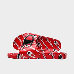 Champion IPO Mega Script Slide Sandals