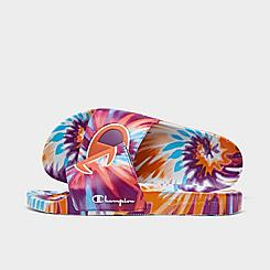 Women's Champion IPO Tie-Dye Slide Sandals