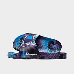 Women's Champion IPO Tie-Dye Slide Sandals