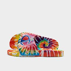 Men's Champion IPO Tie-Dye Slide Sandals