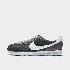 Men's Nike Cortez Basic Premium Recycled Canvas Casual Shoes
