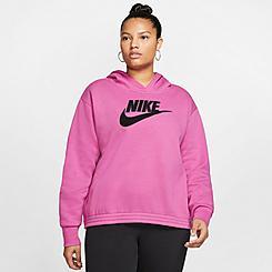 Women's Nike Sportswear Icon Clash Hoodie (Plus Size)