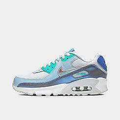 Girls' Big Kids' Nike Air Max 90 FP Casual Shoes