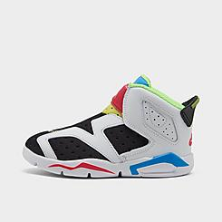 Kids' Toddler Air Jordan Retro 6 Little Flex Basketball Shoes