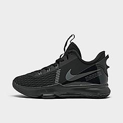 Big Kids' Nike LeBron Witness 5 Basketball Shoes