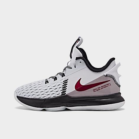 Nike NIKE LITTLE KIDS' LEBRON WITNESS 5 BASKETBALL SHOES SIZE 13.0