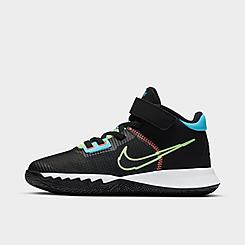 Boys' Little Kids' Nike Kyrie Flytrap 4 Hook-and-Loop Basketball Shoes