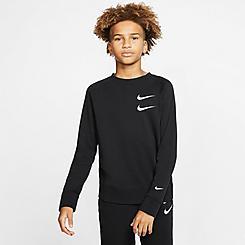 Boys' Nike Sportswear Swoosh Crewneck Sweatshirt
